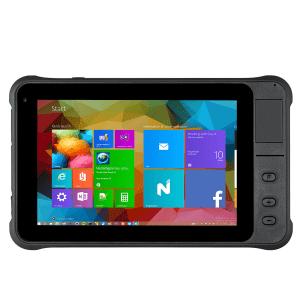 7inch High Precision GPS Rugged Tablet With 1000lumens Brightness