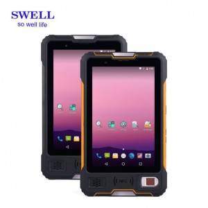 8inch Android 7.0 tablet built-in UHF RFID reader V810
