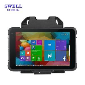 Industrial symbol handheld computer integrated NFC portable rfid reader with rugged case I86H