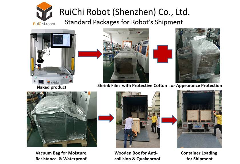 2019 RuiChi Robot Shipment Packages