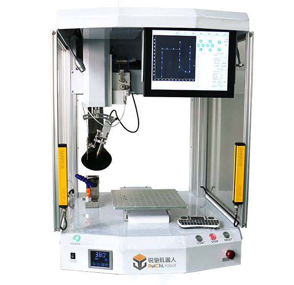 Automatic Soldering Machine With Safety Grid (R351G) (With Safety Grid) Featured Image