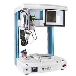 R351C  Intelligent Soldering Robot With CCD Positioning