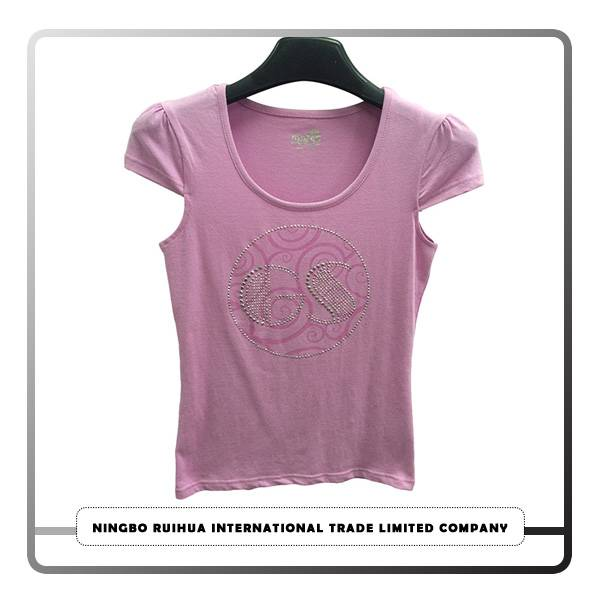 Professional Design Mother-daughter Dress Parentage Clothing - W short t-shirt (11) – RuiHua