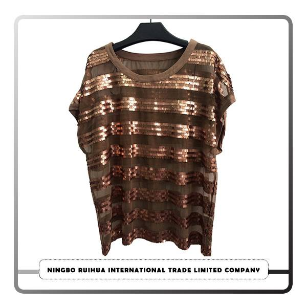 Online Exporter Reversible Custom Streetwear Clothing - W short t-shirt (34) – RuiHua