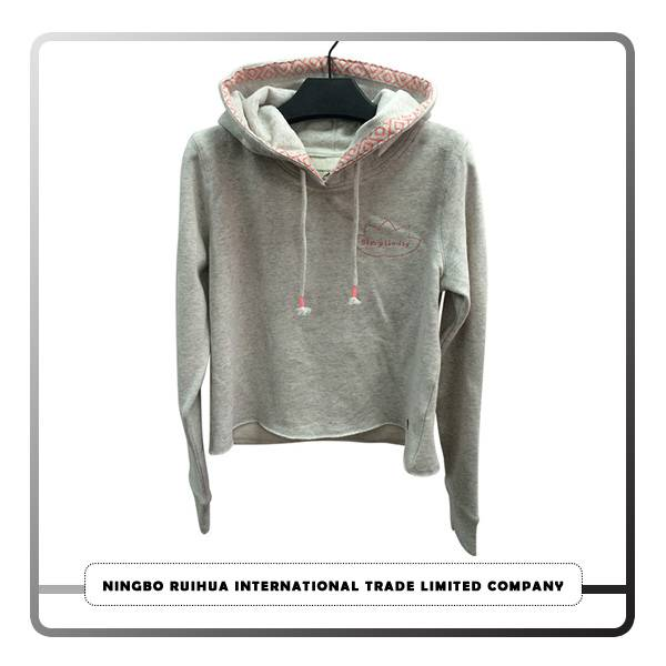 2017 China New Design Bundle Second Hand Clothes - W hoodie coat 15 – RuiHua
