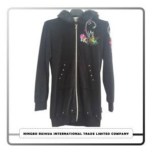 W zipper coat 13