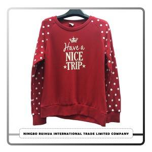 "Cheap PriceList for Short-sleeve Family Matching Clothing "" - W pullover coat 29 – RuiHua"
