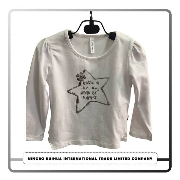 Personlized Products Sale Used Clothes - B girls t-shirt 16 – RuiHua