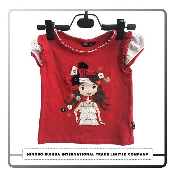 Cheapest Price Clothing Factory - B girls t-shirt 7 – RuiHua