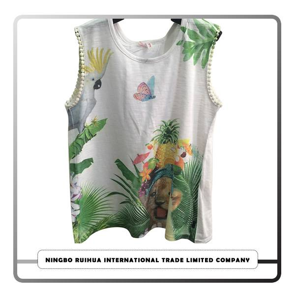OEM Customized Short Dress - B girls t-shirt 18 – RuiHua