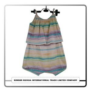B girls romper 14