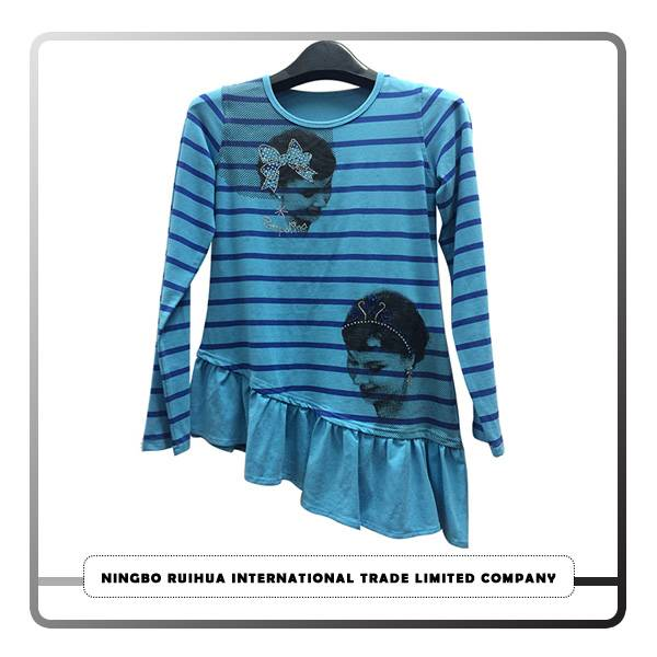 Cheap PriceList for Parent-child T Shirts - W long t-shirt 9 – RuiHua detail pictures