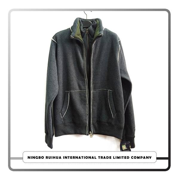 Best Price on New Autumn Fashion Leather Jackets - M zipper coat 4 – RuiHua
