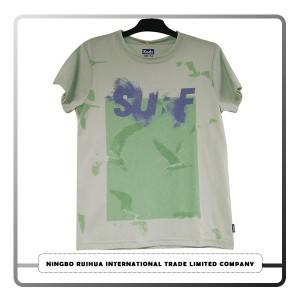 Hot Sale for Summer Used Clothes - C boy t-shirt 1 – RuiHua