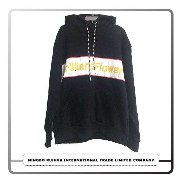 Chinese wholesale Casual T-shirt - W hoodie coat 4 – RuiHua