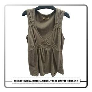 China Gold Supplier for Import Second Hand Clothing - W vest 9 – RuiHua
