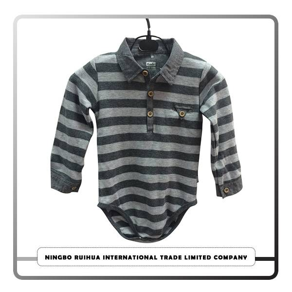 Wholesale Discount Clothing Factories In China Pu/cotton Leather Jacket - B boys romper 3 – RuiHua
