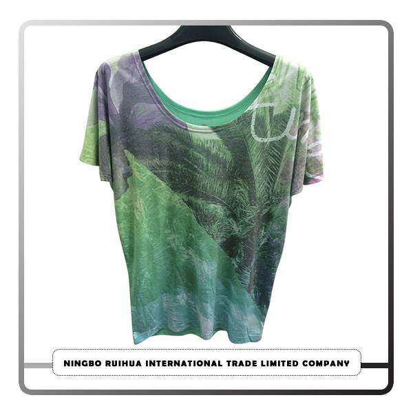 Hot Sale for Hot Cotton Brand Clothing - W short t-shirt (9) – RuiHua