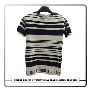 Europe style for Bulk Wholesale Used T- Shirt - W short t-shirt (25) – RuiHua