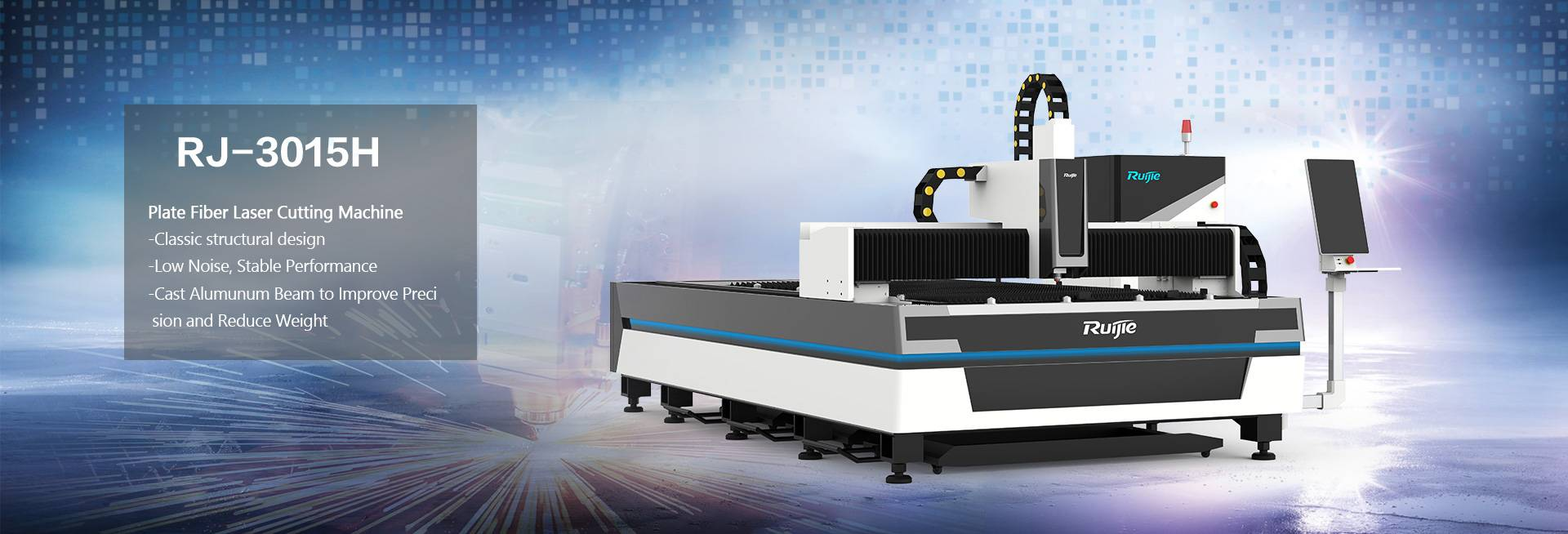 3015H fiber Laser Cutting Machine