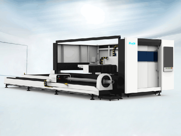 RJ-3015PT Heavy Standard Fiber Laser Cutting Machine with Full Enclosure