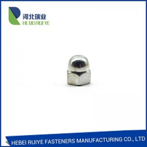 China manufacturer Factory price hexagon cap nuts/Wing Nut  DIN1587