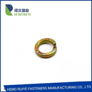 DIN127 steel spring washers spring lock washers factory in China