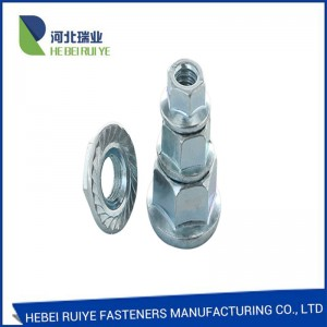 DIN6923 Self-locking  Hexagon Flange Nuts Professional Manufacture High Quality