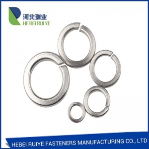 DIN127 asero spring washers spring lock washers factory sa China