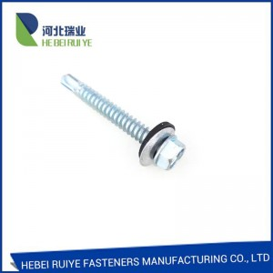 Self Drilling Screw with Carbon Steel/Stainless...