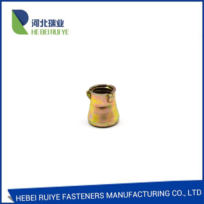 Factory manufacturer Carbon steel yellow zinc 3pcs anchor nut Featured Image