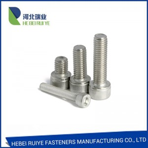 Wholesale Price China DIN912 Cl10.9 Alloy Steel Black Oxide Hex Socket Head Cap Screw