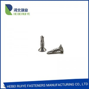 Self Drilling Screw with Carbon Steel/Stainless Steel