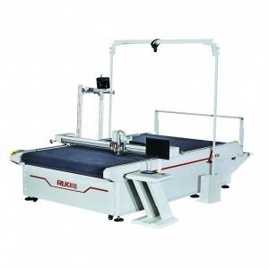 MCC03II fabric cutting machine with visual system