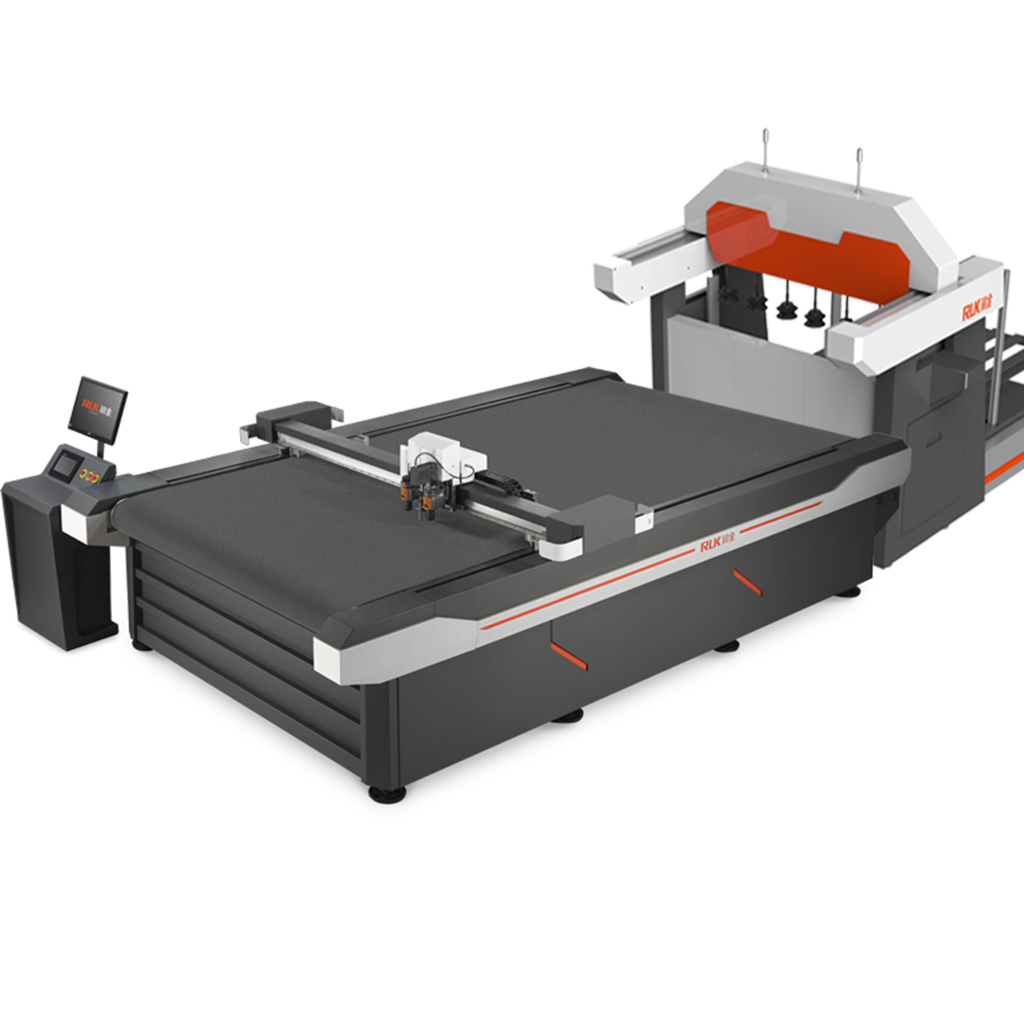 Flatbed knife cutting machine