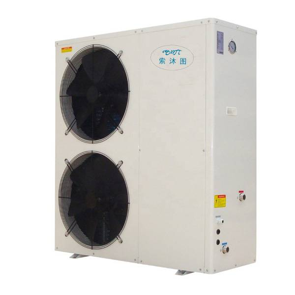 12.0KW air heating pump storage water heaters air source Commercial High Temperature heat pump Featured Image
