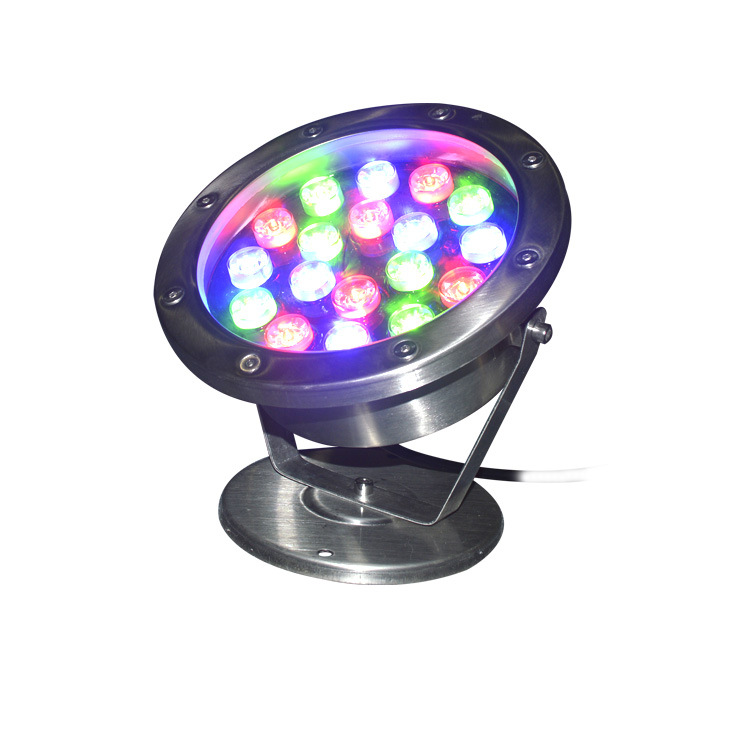 9W 12W 24W garden rgb led underwater fountain light 12w for sale