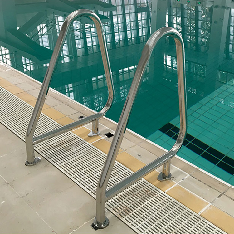 2019 summer modern stainless steel swimming pool handrail decorative