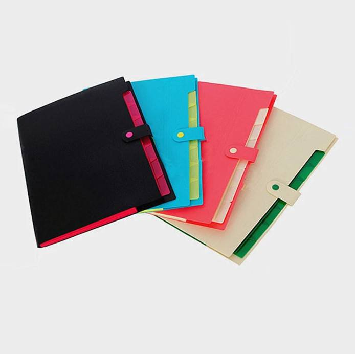 Big discounting Stationery Manufacturers & Suppliers - Expanding File Folder with 5 Pockets Letter Size Accordion Paper Document Organizer for School and Office – Ruiyinxiang