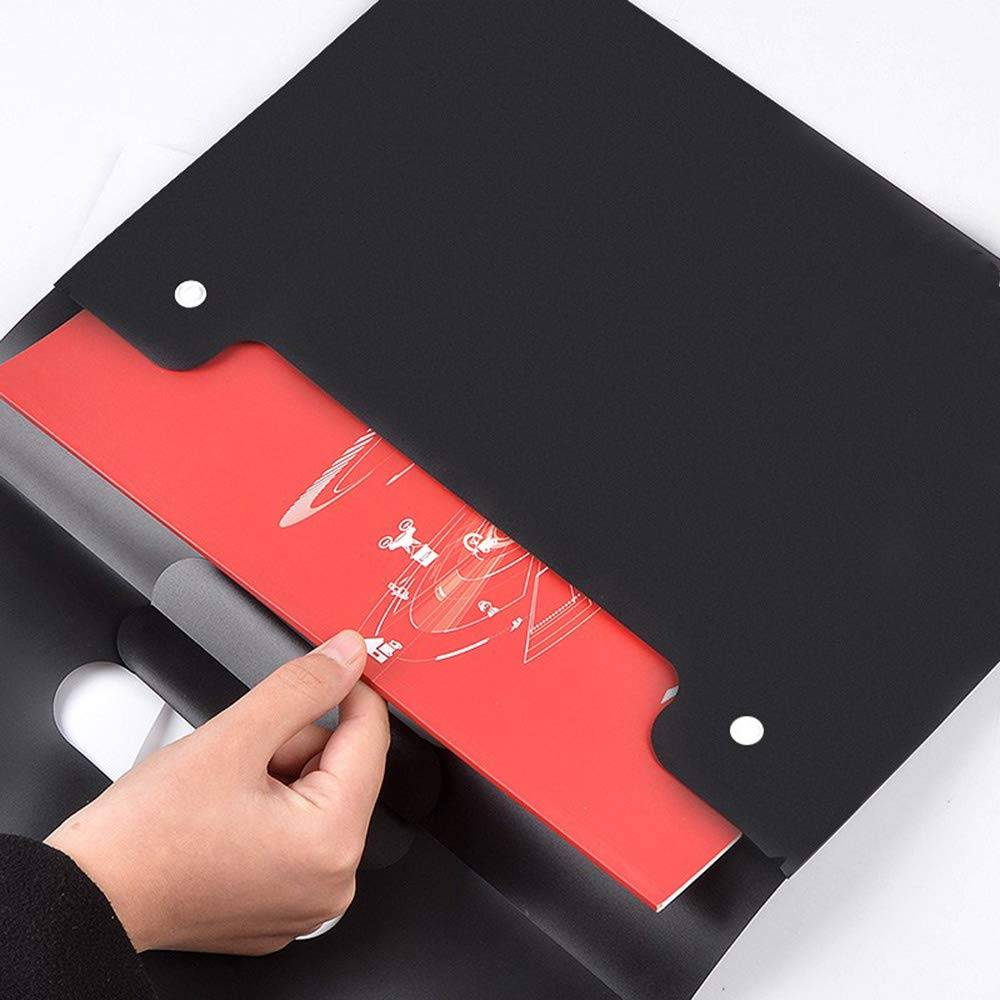 Reasonable price Reference System - A4 Plastic Wallet Folder Envelope Waterproof Plastic Document Folder with Button Closure for School Office Home – Ruiyinxiang