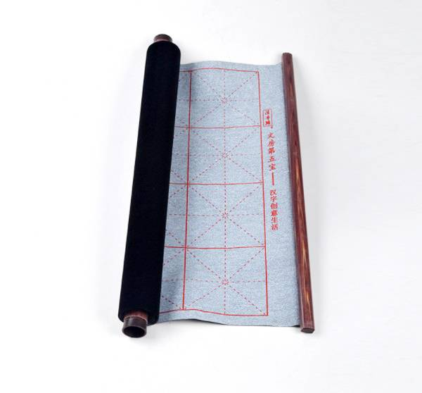 Reusable Water Writing Cloth Chinese Magic Water Paper Calligraphy Fabric