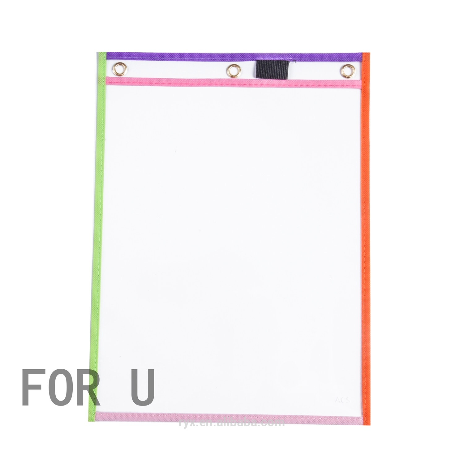Dry Erase Pockets accept mix color