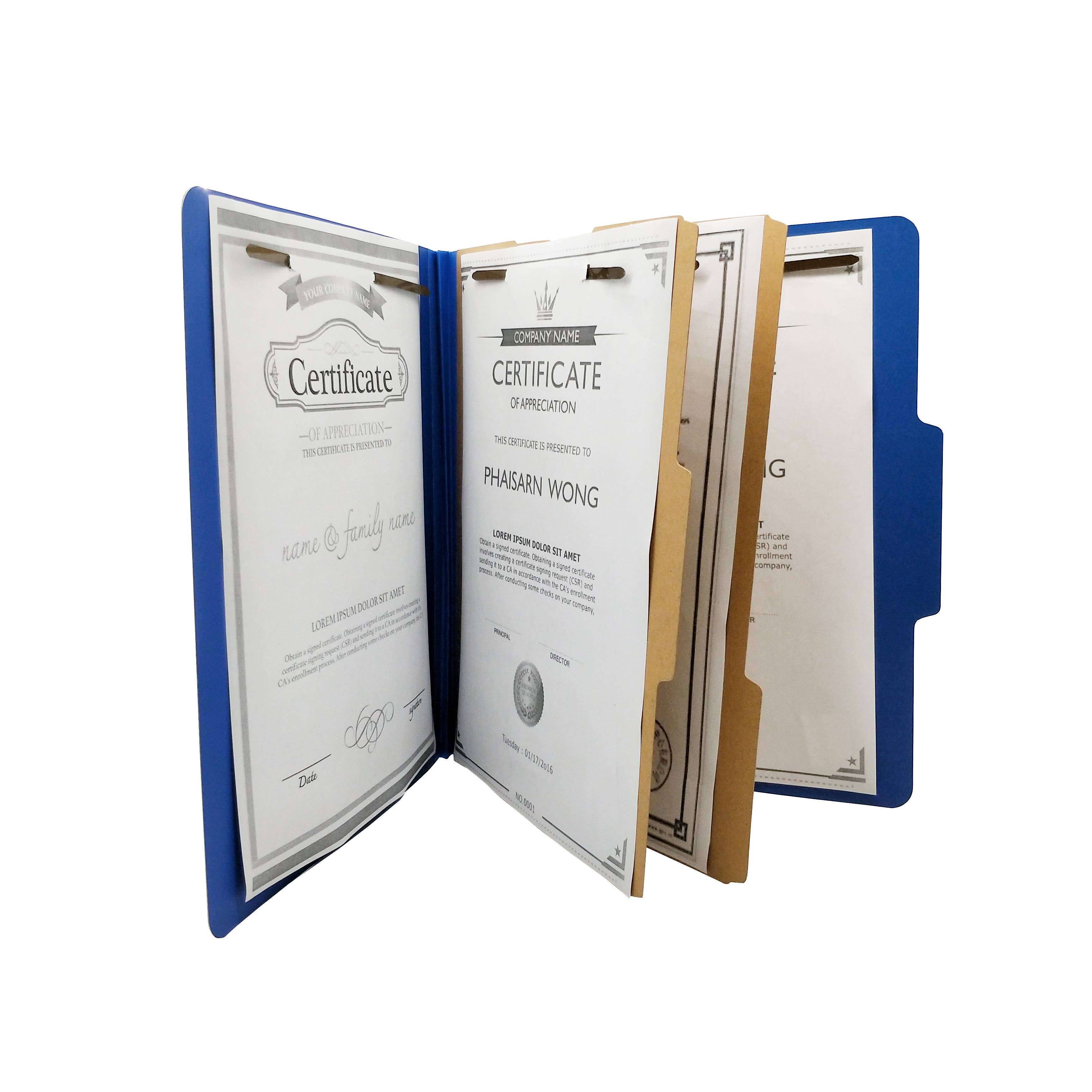 Wholesale Dealers of L Shape File Folder -