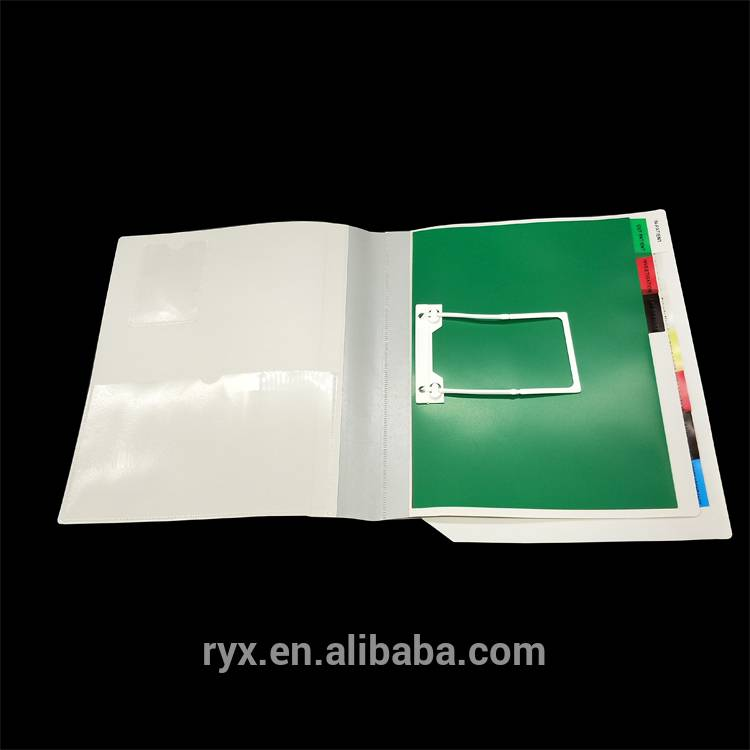 Low price for Clipboards - muli divider Hospital File medical fille folder – Ruiyinxiang
