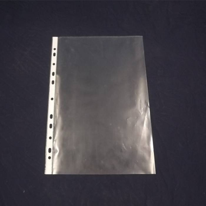 Plastic Top-Load Sheet Protectors 11 holes for Mini Ring Binders, Archival Safe