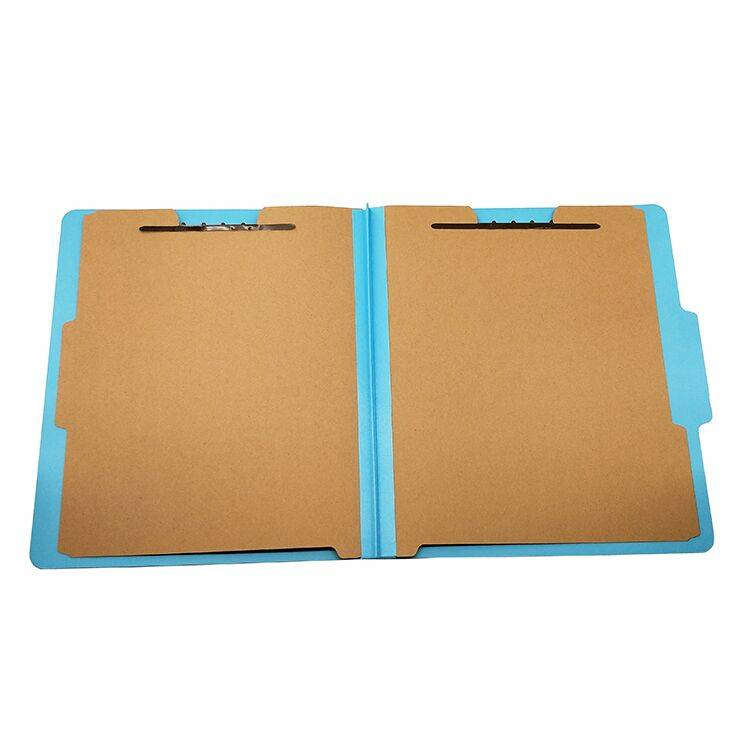 Europe style for Sliding Bar Report Covers - 2019 Pressboard Classification File Folder with Six Fasteners 2 Dividers for A4 Paper Filing – Ruiyinxiang