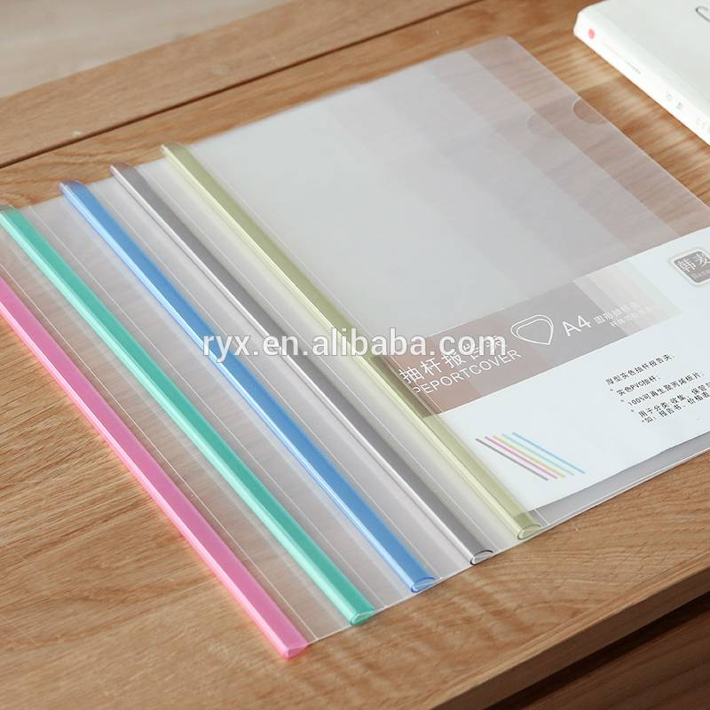 "Hot Sale for 9""x12""11 Holes Sheet Protectors - colorful transparent Q pole A4 plastic pp report file cover – Ruiyinxiang"