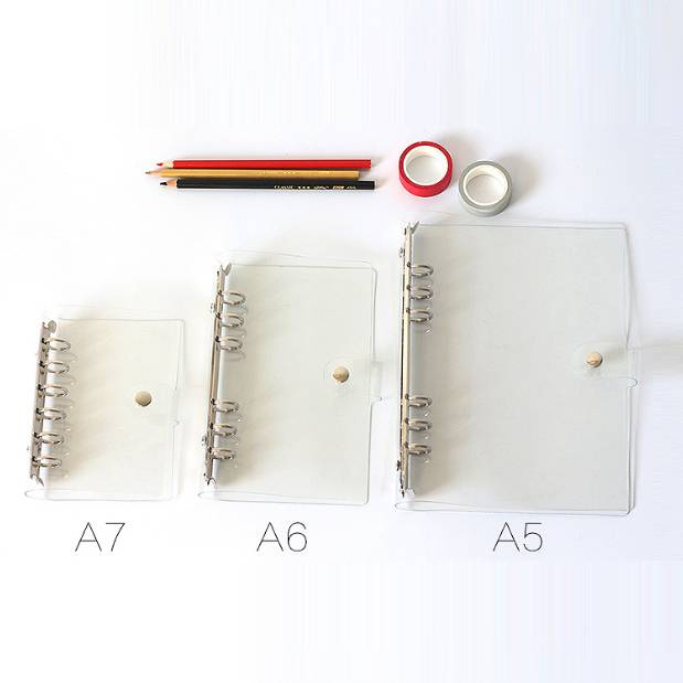 Factory Price A4/A5 Hardcover Mushroom Holes Notebooks -