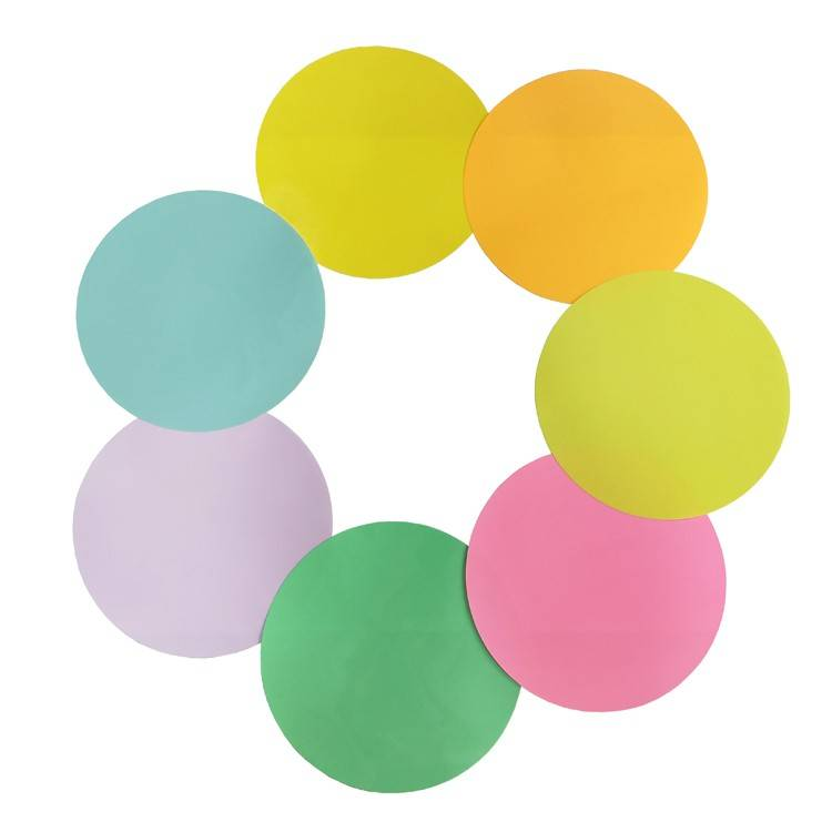Self Adhesive Dry Erase Dots Circles Set Removable Vinyl Dot for Wall and Students' Desks
