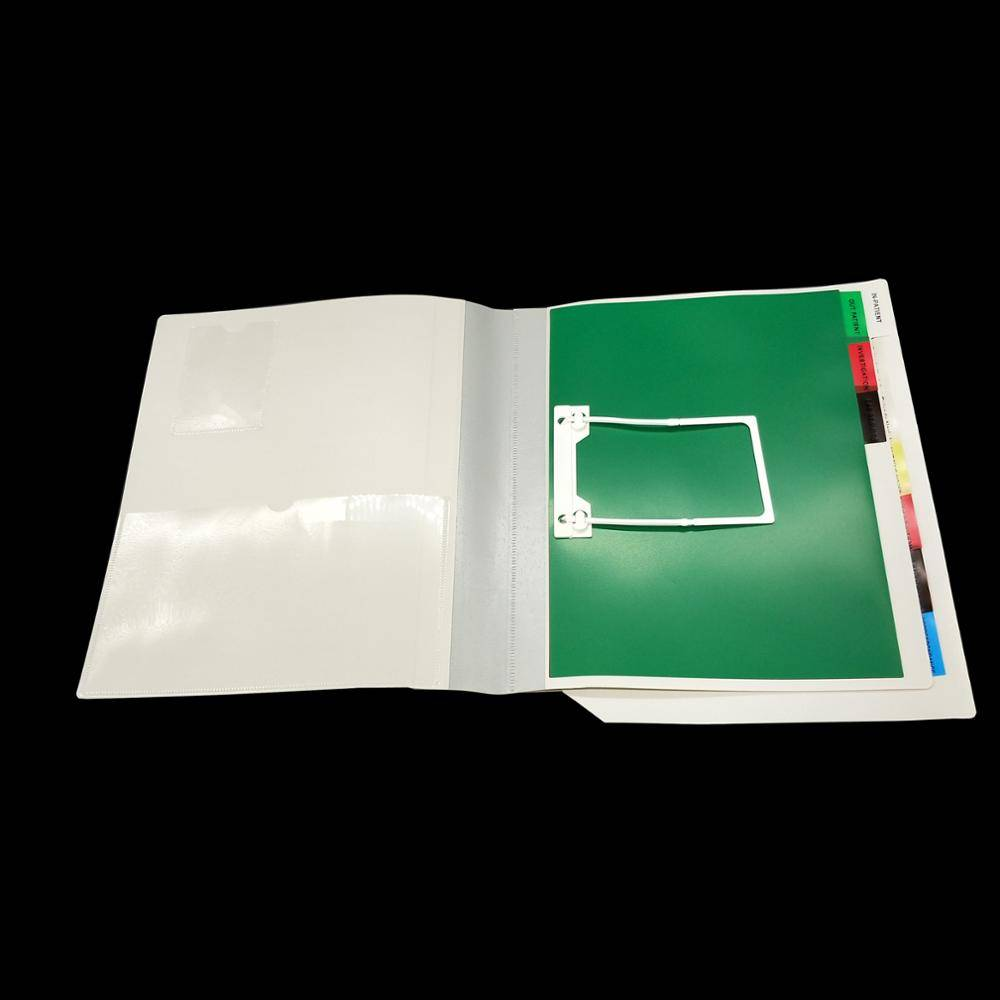 Medical File Folder With Multi-Dividers For Hospital Office Stationery